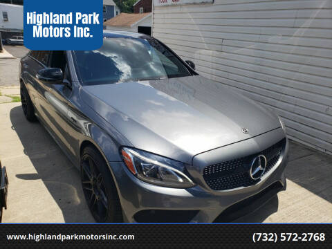 2017 Mercedes-Benz C-Class for sale at Highland Park Motors Inc. in Highland Park NJ