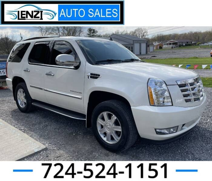 2012 Cadillac Escalade for sale at LENZI AUTO SALES in Sarver PA