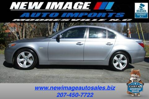 2007 BMW 5 Series for sale at New Image Auto Imports Inc in Mooresville NC