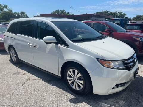 2014 Honda Odyssey for sale at P J Auto Trading Inc in Orlando FL