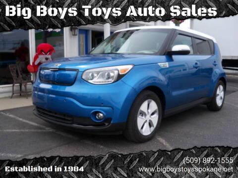 2016 Kia Soul EV for sale at Big Boys Toys Auto Sales in Spokane Valley WA