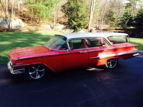 1960 Chevrolet Nomad for sale at Classic Car Deals in Cadillac MI