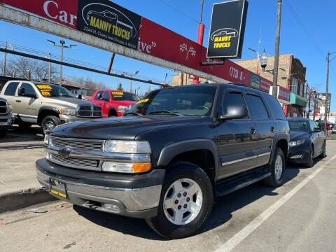 2005 Chevrolet Tahoe for sale at Manny Trucks in Chicago IL