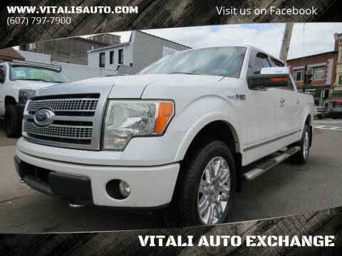 2010 Ford F-150 for sale at VITALI AUTO EXCHANGE in Johnson City NY