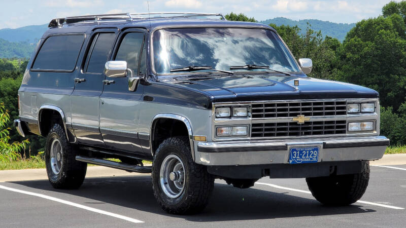 1990 Chevrolet Suburban for sale at Rare Exotic Vehicles in Asheville NC