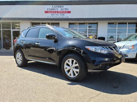 2011 Nissan Murano for sale at Landes Family Auto Sales in Attleboro MA