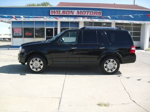 2013 Ford Expedition for sale at Wilson Motors in Junction City KS