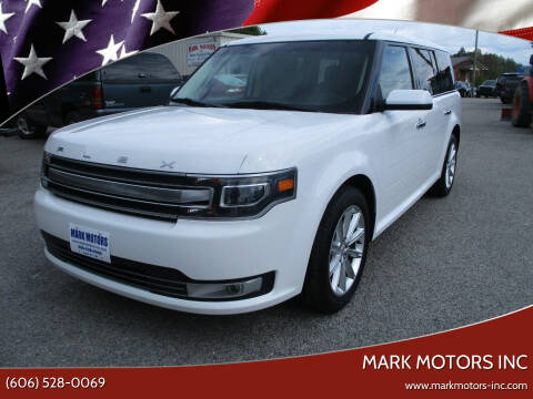 2019 Ford Flex for sale at Mark Motors Inc in Gray KY