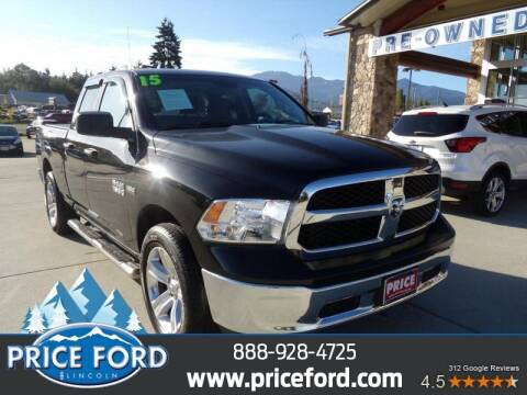 2015 RAM Ram Pickup 1500 for sale at Price Ford Lincoln in Port Angeles WA