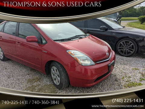 2007 Toyota Prius for sale at THOMPSON & SONS USED CARS in Marion OH