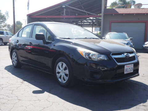 2012 Subaru Impreza for sale at Corona Auto Wholesale in Corona CA