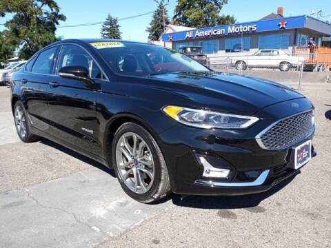 2019 Ford Fusion Hybrid for sale at All American Motors in Tacoma WA