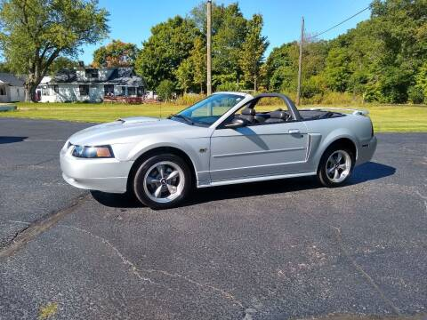 2002 Ford Mustang for sale at Depue Auto Sales Inc in Paw Paw MI