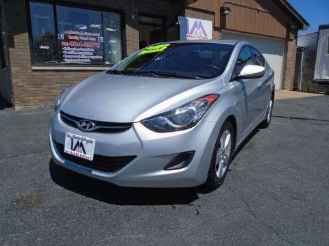 2013 Hyundai Elantra for sale at IBARRA MOTORS INC in Cicero IL