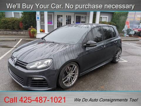 2013 Volkswagen Golf R for sale at Platinum Autos in Woodinville WA