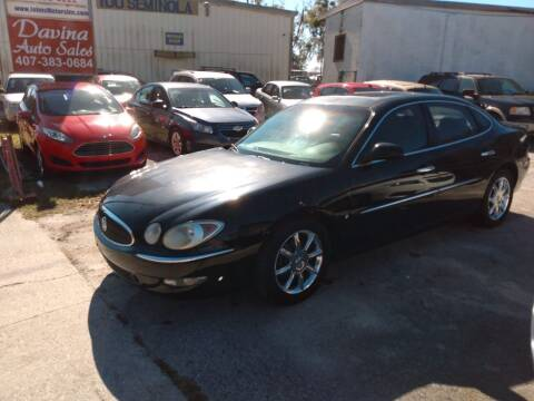 2006 Buick LaCrosse for sale at DAVINA AUTO SALES in Casselberry FL