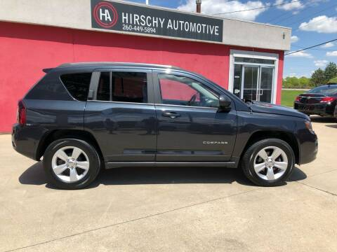 2014 Jeep Compass for sale at Hirschy Automotive in Fort Wayne IN