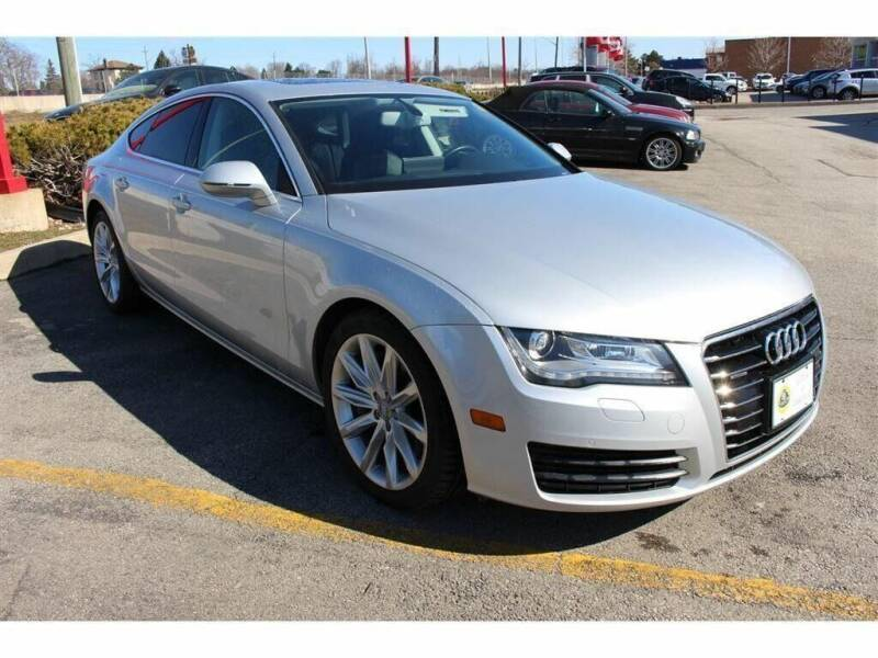 2014 Audi A7 for sale at Peninsula Motor Vehicle Group in Oakville Ontario NY