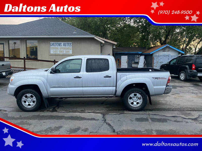 2013 Toyota Tacoma for sale at Daltons Autos in Grand Junction CO
