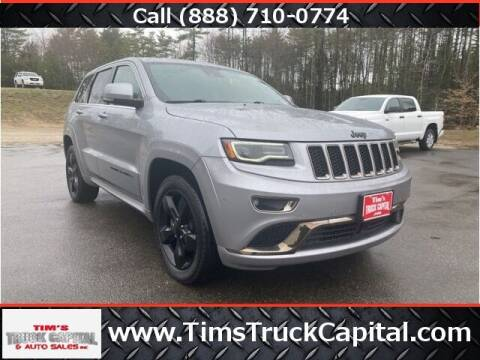 2016 Jeep Grand Cherokee for sale at TTC AUTO OUTLET/TIM'S TRUCK CAPITAL & AUTO SALES INC ANNEX in Epsom NH