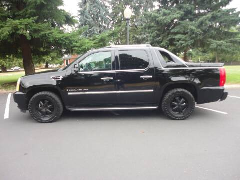 2007 Cadillac Escalade EXT for sale at TONY'S AUTO WORLD in Portland OR