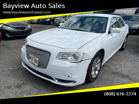 2015 Chrysler 300 for sale at Bayview Auto Sales in Waipahu HI