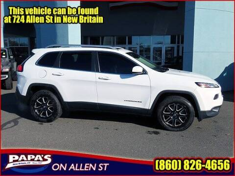2015 Jeep Cherokee for sale at Papas Chrysler Dodge Jeep Ram in New Britain CT