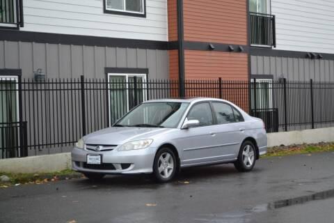 2004 Honda Civic for sale at Skyline Motors Auto Sales in Tacoma WA