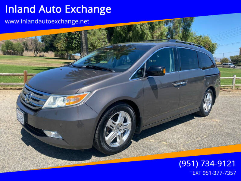 2011 Honda Odyssey for sale at Inland Auto Exchange in Norco CA