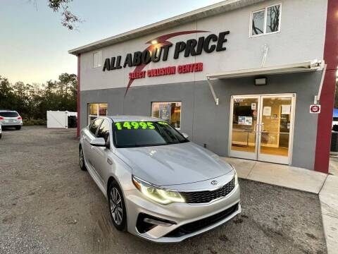 2019 Kia Optima for sale at All About Price in Bunnell FL