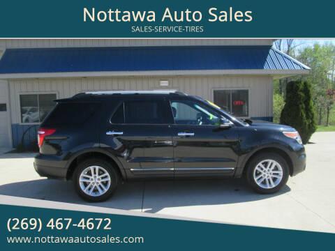 2012 Ford Explorer for sale at Nottawa Auto Sales in Nottawa MI