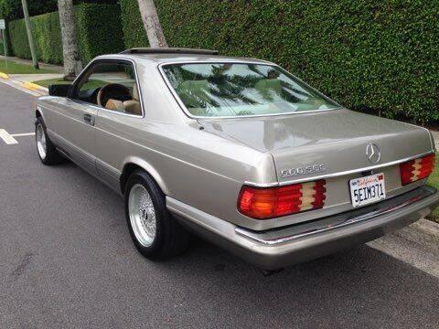 1991 Mercedes-Benz 560-Class for sale at Classic Car Deals in Cadillac MI