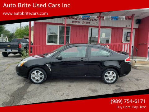 2008 Ford Focus for sale at Auto Brite Used Cars Inc in Saginaw MI