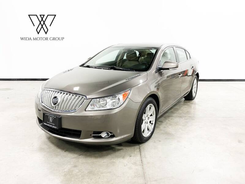 2010 Buick LaCrosse for sale at Wida Motor Group in Bolingbrook IL