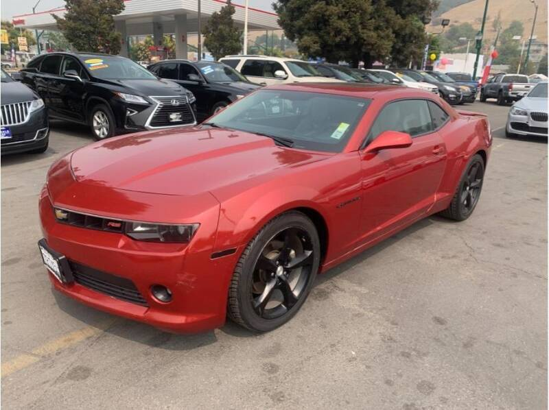 2015 Chevrolet Camaro for sale at AutoDeals in Daly City CA