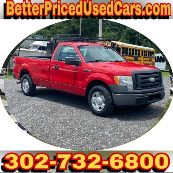 2009 Ford F-150 for sale at Better Priced Used Cars in Frankford DE