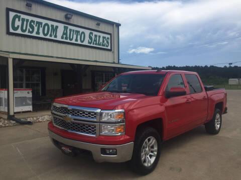 2015 Chevrolet Silverado 1500 for sale at Custom Auto Sales - AUTOS in Longview TX