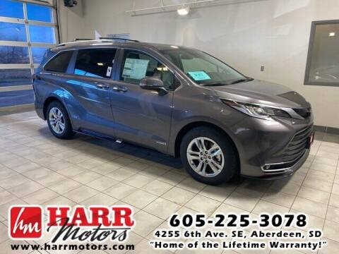 2021 Toyota Sienna for sale at Harr's Redfield Ford in Redfield SD