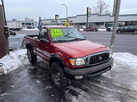 2001 Toyota Tacoma for sale at JBA Auto Sales Inc in Stone Park IL