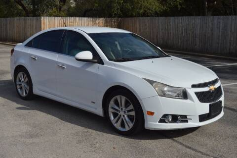 2013 Chevrolet Cruze for sale at Coleman Auto Group in Austin TX