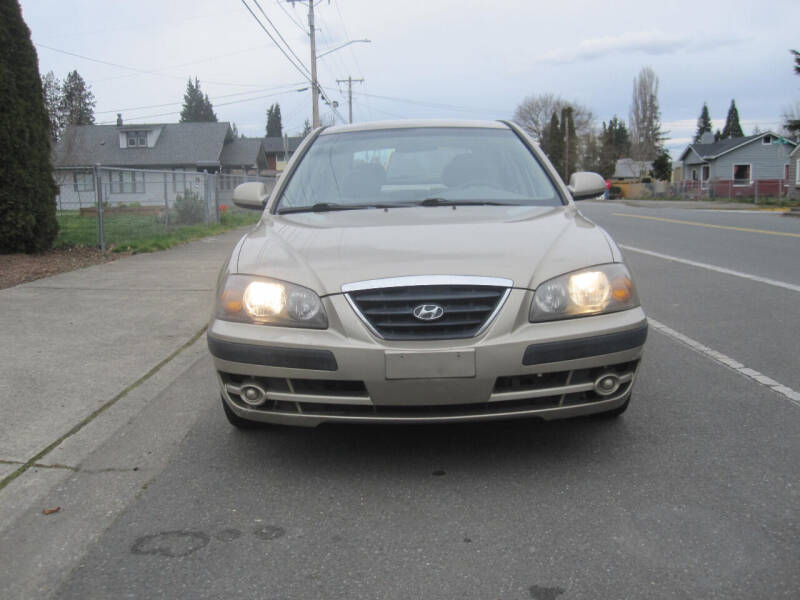 2005 Hyundai Elantra for sale at All About Cars in Marysville-Washington State WA