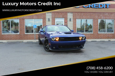 2019 Dodge Challenger for sale at Luxury Motors Credit Inc in Bridgeview IL