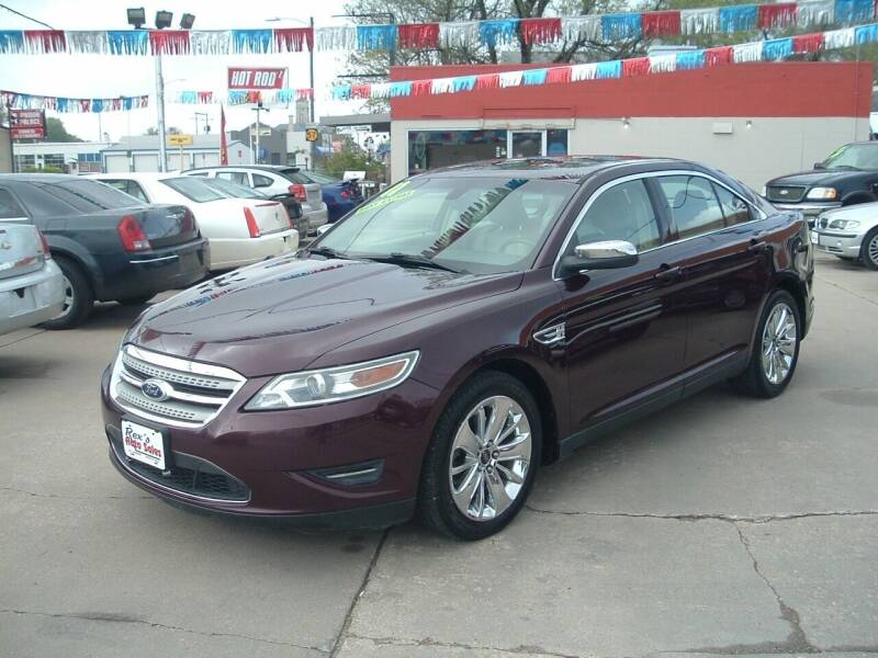 2011 Ford Taurus for sale at Rex's Auto Sales in Junction City KS