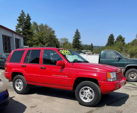 1997 Jeep Grand Cherokee for sale at Direct Auto Sales+ in Spokane Valley WA