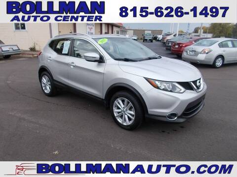 2017 Nissan Rogue Sport for sale at Bollman Auto Center in Rock Falls IL