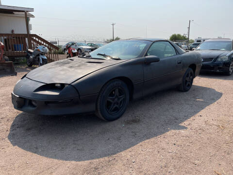 1994 Chevrolet Camaro for sale at PYRAMID MOTORS - Fountain Lot in Fountain CO