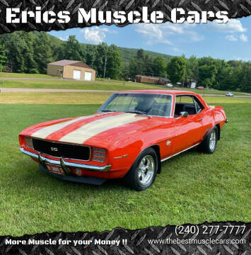1969 Chevrolet Camaro for sale at Erics Muscle Cars in Clarksburg MD