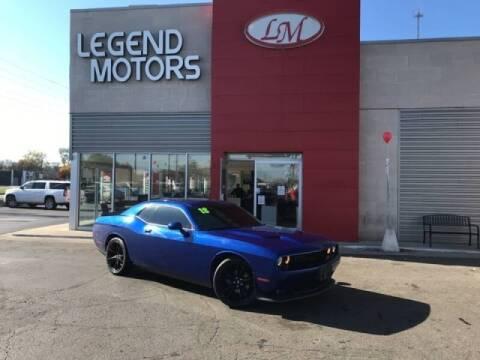 2018 Dodge Challenger for sale at Legend Motors of Detroit - Legend Motors of Ferndale in Ferndale MI