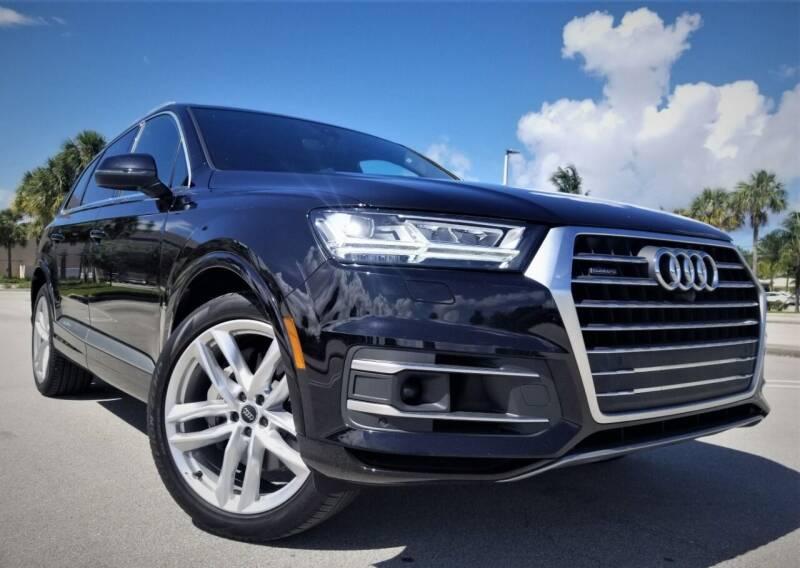 2018 Audi Q7 for sale in Pompano Beach, FL