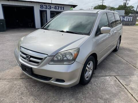 2007 Honda Odyssey for sale at AMERICAN AUTO COMPANY in Beaumont TX
